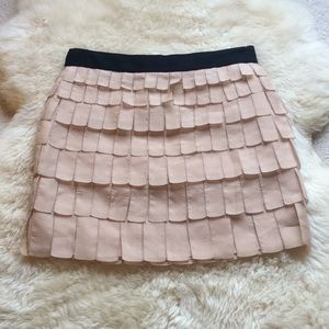 J.crew collection ribbon skirt